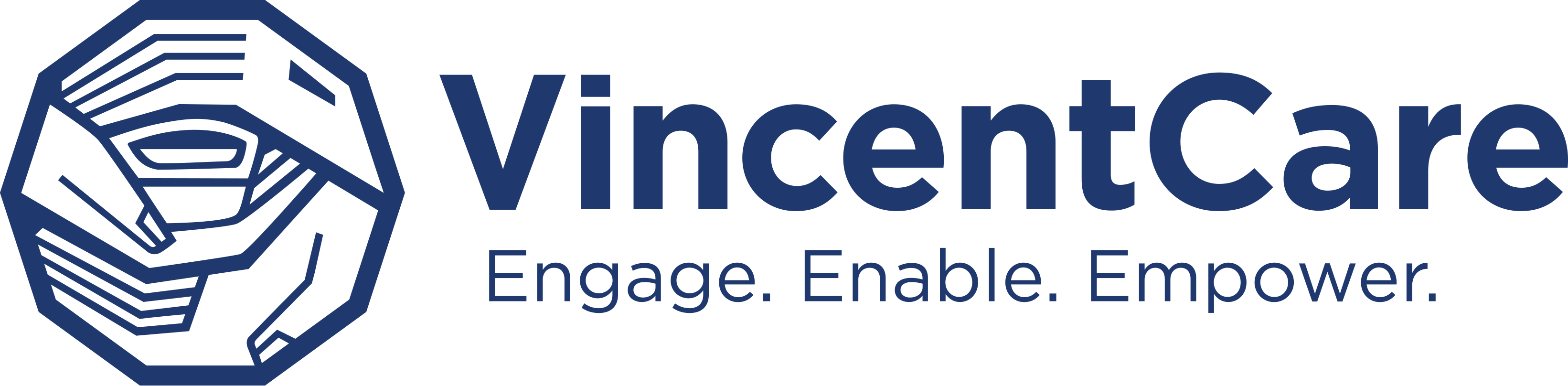 Vincent Care Logo