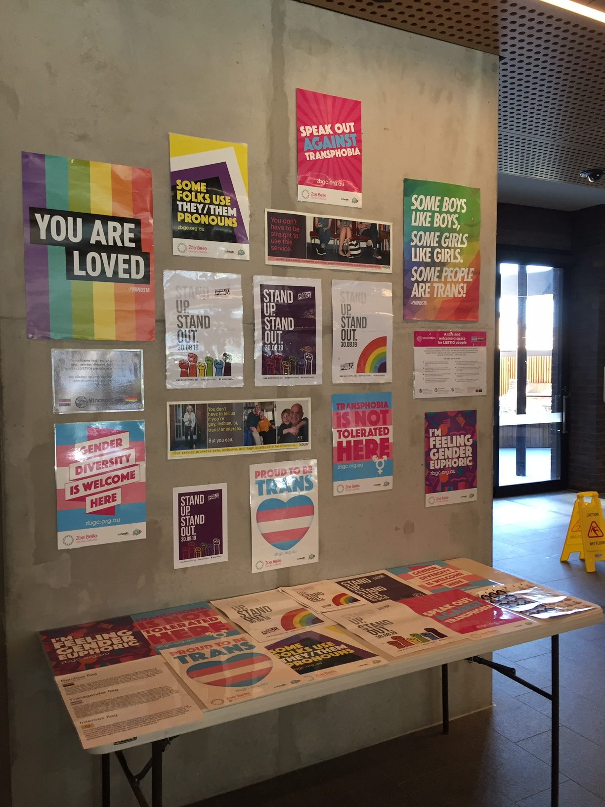 LGBTIQ posters and flyers